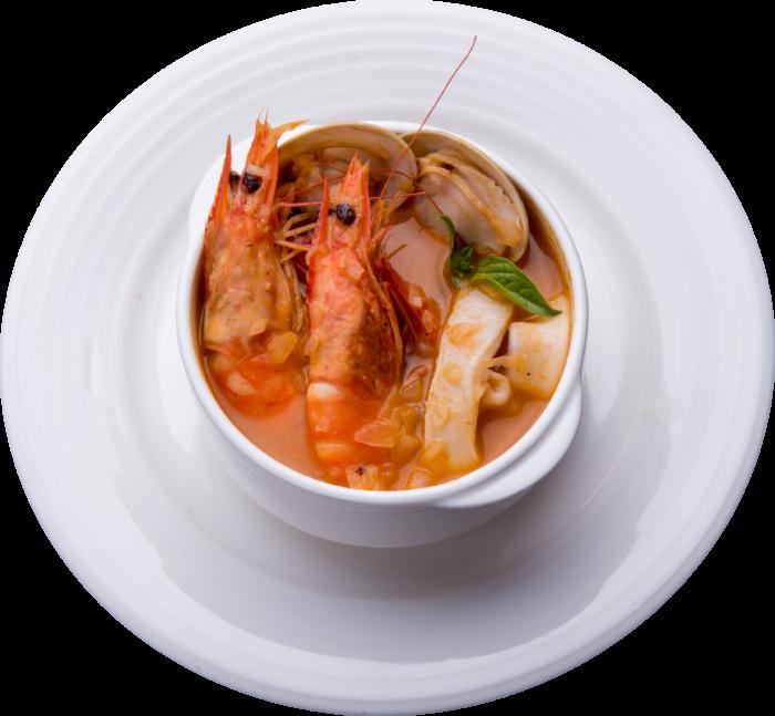 切達番茄海鮮湯