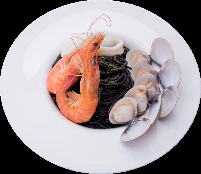 西西里墨醬海鮮