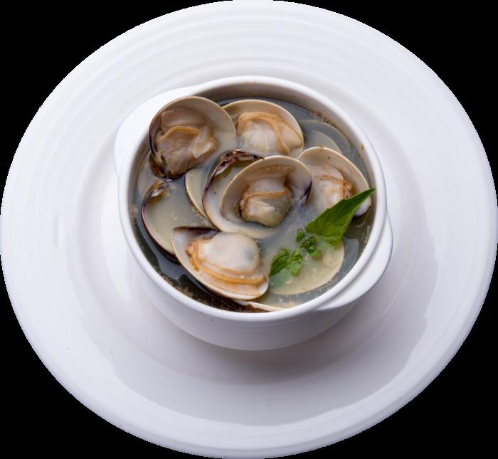 酒蒸精華鮮蛤湯